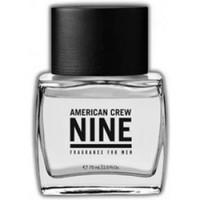 American Crew Nine - Туалетная вода 75 млСредства для ухода за волосами<br>Уникальная туалетная вода, которая при создании и тестировании понравилась 9 из 10 женщин. Теплый, новый, мужской аромат который включает в себя запахи яблока, лаванды, кедрового дерева и янтаря.<br>