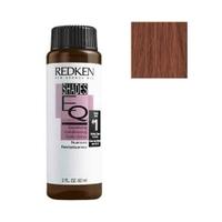 Redken Shades Eq Gloss - Краска-блеск без аммиака для тонирования и ухода Шейдс икью 05K 60 млКраска для волос<br>Краска-блеск без аммиака для тонирования и ухода Шейдс икью 05KБезаммиачная краска -уход для мягкого окрашивания тон в тон. Не осветляет естественный пигмент волоса и не повреждает кутикулу, не раздражает кожу головы, сохраняет превосходное качество волоса. Покрытие седины до 50%. Повышенное содержание протеинов - укрепляет, питает и увлажняет волос.Придает волосам здоровый вид, окрашивает волосы в сияющие оттенки, потрясающе ухаживает за волосами, предлагает невероятное разнообразие оттенков и гарантирует длительные результаты окрашивания!Краска становится уходом-кондиционером для волос!Способ применения:применение: краска смешивается в соотношении 1:1 только с Проявителем-уходом Shades EQ Processing Solution . Использовать для окрашивания незамедлительно! Время выдержки окрашивающей смеси: 20 минут при комнатной температуре. Для получения более светлого оттенка, рекомендовано использовать разбавленные смеси с использованием Shades EQ Crystal Clear(Регулятор интенсивности цвета и блеска). Не уменьшайте время окрашивания! Для получения более интенсивных результатов, рекомендуется обернуть волосы полиэтиленом и использовать дополнительное тепло в течении 15 минут. По истечению 15 минут снимите полиэтилен и выдержите еще 5 минут до полного окрашивания .Объем:60 мл<br>