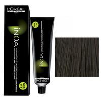 LOreal Professionnel Inoa - Краска для волос 7.18 Блондин пепельный мокка  60 гСредства для ухода за волосами<br>Технология ODS2 - усиленное покрытие седины до 100%. 6 недель интенсивного увлажнения +50% блеска.Краска Иноа не имеет запаха и не содержит аммиака, вследствие чего она не имеет неприятного запаха и не оказывает на волосы и кожу головы негативного раздражающего и разрушающего воздействия.L`oreal Professionnel Inoa мгновенно смешивается, быстро наносится, и обеспечивает во время окрашивания полный комфорт.Обеспечивает глубокий уход за волосами.Волосы после окрашивания остаются такими же гладкими и эластичными, как и до него.Питательные и защитные компоненты, которые входят в состав краски Inoa, обеспечивают превосходный уход.Восполняя в волосе недостаток аминокислот и липидов, краска Inoa гарантирует, что волосы после ее использования будут выглядеть толще и здоровее.Краска Inoa обеспечивает волосам бесконечно долгий цвет.Вы получаете точные прогнозированные оттенки.Краска позволяет окрашивать и осветлять волосы до 3-х тонов, совершенно не портя их.Объем: 60 мл<br>