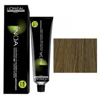 LOreal Professionnel INOA ODS2 - Краска для волос ИНОА ODS 2 без аммиака 9.3 очень очень светлый блондин золотистый 60 млСредства для ухода за волосами<br>Технология ODS2 - усиленное покрытие седины до 100%. 6 недель интенсивного увлажнения +50% блеска.Краска Иноа не имеет запаха и не содержит аммиака, вследствие чего она не имеет неприятного запаха и не оказывает на волосы и кожу головы негативного раздражающего и разрушающего воздействия.L`oreal Professionnel Inoa мгновенно смешивается, быстро наносится, и обеспечивает во время окрашивания полный комфорт.Обеспечивает глубокий уход за волосами.Волосы после окрашивания остаются такими же гладкими и эластичными, как и до него.Питательные и защитные компоненты, которые входят в состав краски Inoa, обеспечивают превосходный уход.Восполняя в волосе недостаток аминокислот и липидов, краска Inoa гарантирует, что волосы после ее использования будут выглядеть толще и здоровее.Краска Inoa обеспечивает волосам бесконечно долгий цвет.Вы получаете точные прогнозированные оттенки.Краска позволяет окрашивать и осветлять волосы до 3-х тонов, совершенно не портя их.Объем: 60 мл<br>