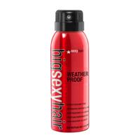 Big Sexy Hair Big Weather Proof Humidity Resistant Spray/15AHS04 - Спрей водоотталкивающий 125 млСредства для защиты волос<br>Непревзойденная защита от любой непогоды! Высокоэффективный влагоустойчивый спрей, который обеспечивает стойкость укладки в течение дня и надежно защищает волосы от влажности. Невидим на волосах. Превосходно подходит для кудрявых волос, а также для любого типа укладок.Способ применения: Хорошо встряхните. Нанесите в качестве завершающего этапа, равномерно распыляя с расстояния 25-30 см.<br>