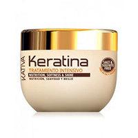 Kativa Keratina Tratamento Intensivo - Интенсивно восстанавливающий уход с кератином для поврежденных и хрупких волос 250 мл