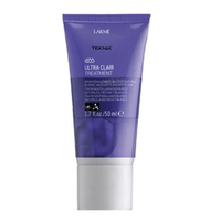 Lakme Teknia Ultra Сlair treatment - Средство придающее блеск светлым оттенкам волос 50 млСредства для ухода за волосами<br><br>