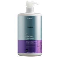 Lakme Teknia Straight shampoo - шампунь для гладкости волос с нарушенной структурой или химически выпрямленных волос 1000 млСредства для ухода за волосами<br><br>