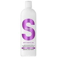 Tigi S-Factor Stunning Volume Shampoo - Шампунь для объема 750 млШампуни для волос<br>Ухаживающая линия S Factor специально разработана для бережного сохранения цвета окрашенных волос. Ухаживающая формула с жожоба, экстрактом крапивы и про-витамином B5 придает ощутимый, упругий объем тонким волосам, не утяжеляя их. Придайте волосам дополнительую плотность и блеск, делая их послушными.Применение:нанесите мягкими массажными движениями на влажные волосы, вспеньте, затем смойте. Избегайте попадания в глаза. При попадании в глаза промойте их водой.Объем:750 мл<br>