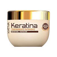 Kativa Keratina Tratamento Intensivo - Интенсивно восстанавливающий уход с кератином для поврежденных и хрупких волос 500 мл