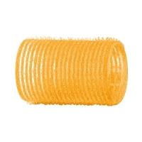 Dewal R-VTR5 - Бигуди-липучки желтые d 32 мм (12 шт.)