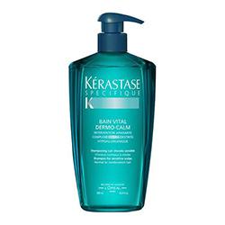 Kerastase Specifique Bain Vital Dermo-Calm - Шампунь ванна для чувствительной кожи головы и нормальных волос 500 мл