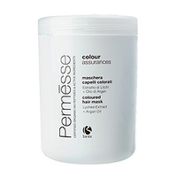 Barex Permesse Сoloured Hair Mask with Lychee Extract and Argan Oil - Маска для окрашенных волос с экстрактом личи и маслом Арганы 1000 мл