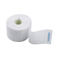 Dewal 01-001 - Воротнички бумажные с синей липучкой (100 шт)