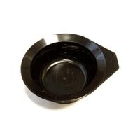 Dewal T-1201Ч - Чаша для краски,черная, с ручкой,с резинкой на дне 260 мл