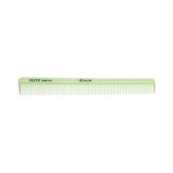 Dewal CO-6008-OLIVE - Расческа рабочая Olive комбинированная, узкая, зеленая 21,5 см