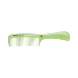 Dewal CO-6810-OLIVE - Расческа рабочая Olive с ручкой, зеленая 20,5 см