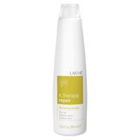 Lakme K.Therapy Repair Revitalizing Shampoo Dry Hair - Шампунь восстанавливающий для сухих волос 300 млСредства для ухода за волосами<br>Ассортимент специально разработанных продуктов для сухих и очень сухих волос.Состояние волос: сухие, пористые и поврежденные волосыВ состав шампуня входит гидратированный сахарный комплекс, который обеспечивает длительный увлажняющий эффект. Водомасленный комплекс растений Бабассу и Макадамия (произрастающих в Бразилии) предотвращает обезвоживание и защищает волосы, обеспечивая питание и блеск. Содержит концентрат ледниковой воды, богатой минералами и олиго-элементами, которые естественным образом смягчают и защищают кожу головы. Благодаря мягкому воздействию подходит для ежедневного использования.Прошел дерматологический контрольПрименение:Нанести на влажные волосы. Вспенить и оставить на несколько минут для воздействия. Тщательно смыть.Объем:300 мл<br>