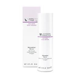 Janssen Oily Skin Microsilver Serum - Сыворотка с антибактериальным действием для жирной, воспаленной кожи 50 мл
