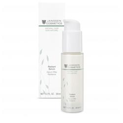 Janssen Organics Radiant Serum - Увлажняющий концентрат мгновенного действия для свежести и сияния кожи 30 мл