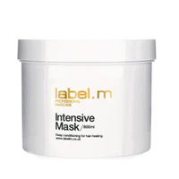 Label.M Condition Intensive Mask - Маска Восстанавливающая 800млМаски для волос<br>Интенсивно восстанавливающая маска, реструктурирует химически обработанные и поврежденные термической укладкой волосы. Идеальное средство ухода в салоне для получения живых сияющих волос. Эксклюзивный комплекс Enviroshield не дает волосам спутываться, а также защищает от термического воздействия во время укладки и от УФ лучей.Применение: нанести на вымытые шампунем волосы, смыть. Рекомендуется применять один раз в неделю.Объем: 800 мл<br>