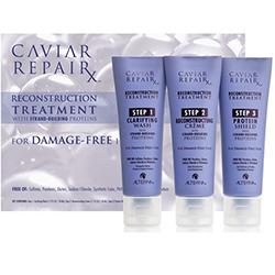 """Alterna Caviar Repair Rx Reconstructing Treatment - Профессиональный уход """"молекулярное восстановление волос"""" 3*50 мл"""