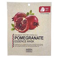 Mijin Cosmetics Essence Mask Pomegranate - Маска для лица тканевая гранат 25 г