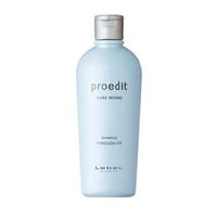 Lebel Proedit Care Works Through Fit Shampoo - Шампунь для прямых волос 300 мл