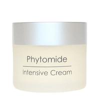 Holy Land Phytomide Intensive Cream - Интенсивный крем 50 млКрема для лица<br>Насыщенный питательный крем для использования вечером и в часы отдыха. Быстро впитывается.Действие:Обеспечивает кожу необходимыми питательными компонентами.Ускоряет процессы регенерации.Смягчает кожу, повышает ее упругость и эластичность.Активные компоненты:оливковое масло, подсолнечное масло, экстракт хвоща полевого, экстракт хмеля, экстракт пшеницы, гидролизованный шелк, масло бурачника, аскорбил пальмитат (витамин С), комплекс Phytolene, сквален, масло сладкого миндаля, гликосфин-голипиды, фосфолипиды, холестерол, масло ореха макадамии, экстракт вечернего перво-цвета, арахидоновая, линолевая и линоленовая кислоты, токоферил ацетат (витамин Е), ретинил пальмитат (витамин А).Способ применения:Используется вечером после очищения, а также утром перед дневным кремом при повышенной сухости кожи. 2-3 раза в неделю рекомендуется использовать крем вечером после капсулы с растительными экстрактами и/или под питательную маску.Объем:50 мл<br>