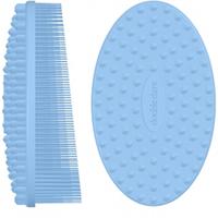 Double Dare I.M. Buddy - Массажная силиконовая щетка голубая