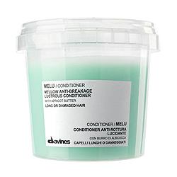 Davines Essential Haircare Melu Anti-breakage shine conditioner with apricot butter - Кондиционер для длинных или поврежденных волос с маслом абрикосовых косточек 250 мл