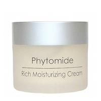 Holy Land Phytomide Rich Moisturizing Cream Spf 12 - Увлажняющий крем 50 млСредства для ухода за волосами<br>Увлажняющий дневной защитный крем с солнцезащитным фильтром (SPF 12).Действие:Увлажнение сухой кожи, повышение уровня увлажненности.Восстановление тонуса, укрепление тканей.Защита от внешних воздействий и вредного спектра солнечного излучения.Активные компоненты:оливковое масло, гидролизованный шелк, гликосфинголипиды, фосфолипиды, холестерол, бензофенон-3 (UVB-фильтр), октилметоксициннамат (UVA- фильтр), масло бурачника, токоферол, аскорбил пальмитат, подсолнечное масло, экстракт хвоща полевого, экстракт хмеля, экстракт пшеницы, сквален, комплекс Phytolene, масло сладкого миндаля, токоферил ацетат.Способ применения:Используется утром после умывания в качестве увлажнителя, защиты и основы под макияж.Объем:50 мл<br>