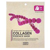 Mijin Cosmetics Essence Mask Collagen - Маска для лица тканевая коллаген 25 г