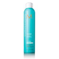 Moroccanoil Luminous Hair Spray - Сияющий лак для волос эластичной фиксации 330 млУкладочные средства<br>Лак помогает моделировать любые прически, устойчиво держится на волосах, не склеивая пряди, а напротив оставляя волосы пушистыми и легкими.Благодаря особым свойствам Арганового масла лак в сырую погоду надежно сохраняет сделанную прическу, препятствует завиванию волос во влажной среде.Лак Moroccanoil Luminous Hair Spray подчеркивает и усиливает естественный блеск волос.Применение: для закрепления сделанной прически, обрызгать сухие волосы круговыми движениями с расстояния не менее 25 см, для создания объема, сбрызнуть корни волос и уложить их как вам нравится.Объём: 330 мл<br>