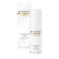 Janssen Opus Belle Anti-Age De-Age &amp; Re-Lift Lotion - Anti-Age лифтинг эмульсия 30 млСредства для ухода за лицом<br>Мягкая освежающая эмульсия с активным действием, эффективно повышает тонус, восстанавливает воднолипидный баланс эпидермиса, смягчает, видимо улучшает текстуру кожи, восстанавливает цвет кожи.Применение: Наносите De-Age &amp; Re-Lift Lotion на очищенную кожу лица и шеи утром и/или вечером. Идеальная база под макияж.В салоне использовать как завершение ухода.Активные компоненты: Комбуча, масло манго, аллантоин, бисаболол, витамины С и Е, сахариды.Объем: 30 мл<br>