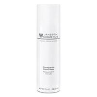 Janssen Pomegranate Cream Mask - Омолаживающая крем-маска с экстрактом граната и витамином c 200 мл