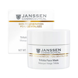 Janssen Opus Belle Anti-Age Trifolia Face Mask - Насыщенная anti-age маска с фитоэстрогенами и гиалуроновой кислотой 200 мл