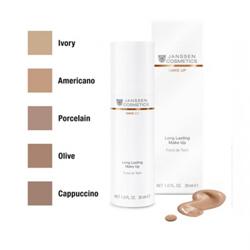 Janssen Long Lasting Make-Up - Стойкий тональный крем с SPF-12 (капучино) 30 мл