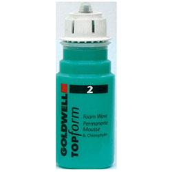Goldwell Topform Foam Wave 2 - Химическая завивка для пористых или окрашенных волос 90 мл