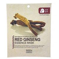 Mijin Cosmetics Essence Mask Red Ginseng - Маска для лица тканевая красный женьшень 25 г