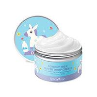 Seantree Donkey Milk Water Drop Cream - Крем для лица с молочными протеинами 200 г
