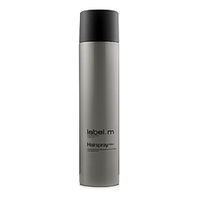Label.M Complete Hairspray - Лак для Волос 600млУкладочные средства<br>Обеспечивает гибкую фиксацию, не склеивает волосы. От средней до сильной фиксации. Содержит УФ фильтры. Позволяет повторно моделировать и изменять форму прически, не перегружая волосы.Применение: наносить на сухие волосы, распыляя на участки, где необходима фиксация.Объем: 600 мл<br>