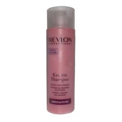 Revlon InterActives Keratin Shampoo - Шампунь восстанавливающий с Кератином 250 мл