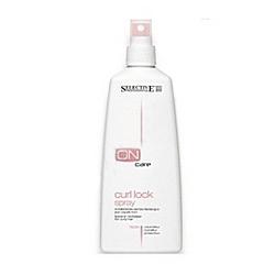 Selective On Care Tech Curl Lock Spray - Тонизирующий несмываемый спрей для вьющихся волос 250 мл