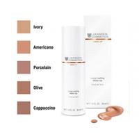 Janssen Long Lasting Make-Up - Стойкий тональный крем с SPF-12 (порцелан) 30 млКрема для лица<br>Лёгкий, нежирный, стойкий тональный крем (гамма из пяти естественных тонов: придаёт коже идеальную гладкость, выравнивает её цвет, благодаря специальной формуле абсорбирует излишний жир. Содержит витамины-антиоксиданты C и E, увлажняющий полисахаридный комплекс, аминокислоты, успокаивающие и питающие кожу компоненты. Высокий SPF-фактор (12). Не оставляет следов на одежде. Эффект сохраняется целый день.Объем: 30 мл<br>