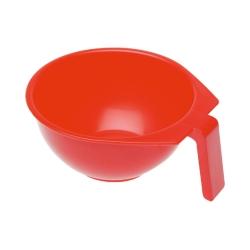 Dewal T-1212К - Чаша для краски, красная, с ручкой 400 мл