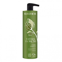 Selective Natural Flowers Hydro Shampoo - Аква-шампунь для частого применения 1000 мл