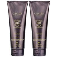 Alterna Caviar Anti-Aging Mousture Intense Oil Creme Deep Conditioner - Кондиционер активного действия - шаг 3 из системы интенсивного увлажнения 2*458 мл