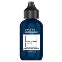 L'Oreal Professionnel Colorful Hair Flash - Макияж для волос синее настроение 60 мл