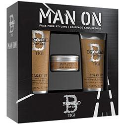 TIGI Bed Head For Men Dandy - Набор мужской для волос (шампунь 250 мл, кондиционер 200 мл, воск 85 г)