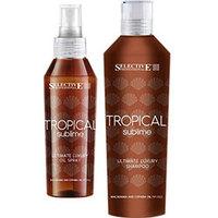Selective Professional Tropical Sublime Set - Hабор (шампунь-гель для кожи и волос после пребывания на солнце 250 мл + защитное масло-спрей 100 мл)