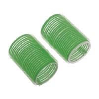 Dewal R-VTR16 - Бигуди-липучки зеленые d 61мм (6шт)