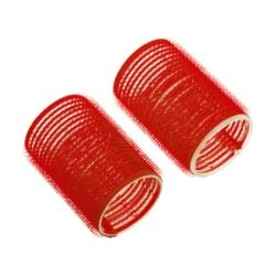 Dewal R-VTR10 - Бигуди-липучки красные d 13мм (12шт)