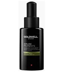 Goldwell Pure Pigments Matte Green - Прямой пигмент матовый зеленый 50 мл